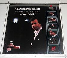 LaserDisc JOHANN SEBASTIAN BACH Goldberg variations ANDRAS SCHIFF LD dvd
