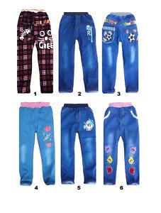 children kids boy girl jeans jeggings casual denim trousers 1 2 3 4 5 6 7 years
