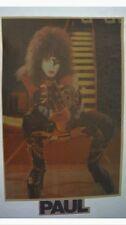 KISS Aucoin Paul Stanley Vintage '77 ALIVE II guitar pose Iron On Transfer