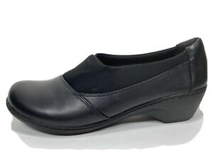 Clarks Collection Leather Comfort Shoes Womens 12 M
