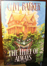 The Thief of Always by Clive Barker (1992) HC.DJ.1st.1st. Signed Ed. Near Fine
