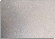 2 X A4 Sheets of 220gsm Premium Dovecraft Silver Glitter Card