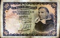 500 pesetas 1946 Francisco de Vitoria @Bonito Ejemplar@