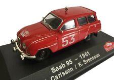 Saab 95 Carlsson 1961 Rally Montecarlo coche 1:43 Atlas Diecast
