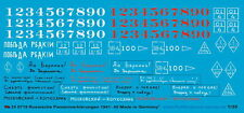 Peddinghaus 0719 1/35 russa contrassegni di veicolo