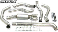 OBX Turbo Back Exhaust For 01-04 GM Silverado Sierra 2500HD 6.6L Turbo Diesel