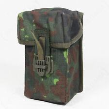 Original German Army G3 MAG POUCH Flecktarn Camo - Camouflage Canvas Ammo Holder