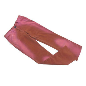 Max&Co. Pants Orange Pink Woman Authentic Used C2955