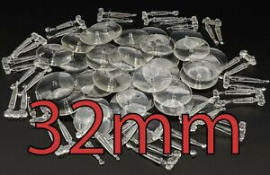 32mm Round Flying Warhammer Bases with Stems Wargaming Wargames AOS Plastic