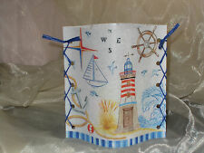 Deko Windlicht Leuchtturm Anker Steuerrad Boot Tischlicht Mitbringsel