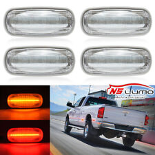 For 03-09 DODGE RAM 2500 3500 LED Front/Rear Dually Bed Side Fender Marker Light
