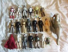 vintage STAR WARS figures lot.