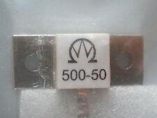 500 WATT 50 Ohm 0.5 GHZ DUMMYLOAD RESISTOR/WIDERSTAND