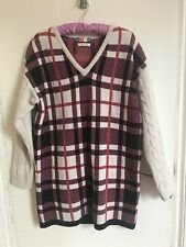 Ladies MSGM Wool Jumper Dress Size 8/10