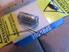75uF, 25DC Sprague 30D TE1210 USA+ Axial Capacitor New Old Stock (Qty: 1 Piece)