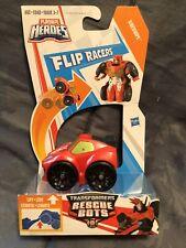 Transformers Rescue Bots Flip Racers ~Sideswipe~ Playskool Heroes  NEW
