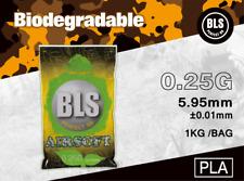 BLS Billes Bio 6mm Premium 0.25g 1kg / 4000 billes pour  Airsoft