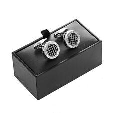Classic Men Business Cufflink Storage Gift Box Gentlemen Jewelry Display Case