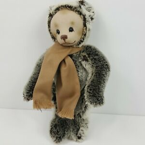 Merrythought Pippin Teddy Bear 206 of 1000 Moulded Face NEW Tags Handmade Englan
