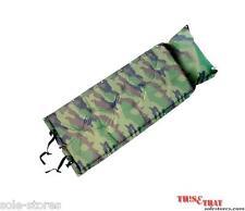 Portable Auto/self Inflatable Air bed Mattress Cushion/Camping Mat (Army Green)