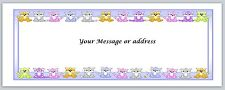 30 Personalized Return Address Labels Cats Buy 3 get 1 free (ct233)