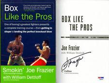 Smokin' Joe Frazier SIGNED Box Like The Pros 1st Ed BOXING PSA/DNA AUTOGRAPHED