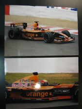 Photo Orange Arrows Asiatech A22 2001 #15 Enrique Bernoldi (BRA) GP Belgium 2x
