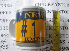 NEW #1 MOM White New York Empire State License Plate Coffee Tea Mug Cup Father's
