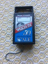 Vintage Normark 50# Electronic Digital Fish Scale.