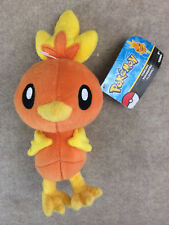 "Pokemon Tomy Nintendo Sun Moon About 10"" Stuffed Plush Doll Torchic"