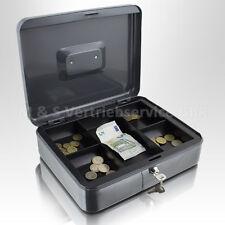 Geldkassette 30 cm groß, flach abschließbar Geldkoffer Transport Zählbrett Safe