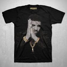 Drake Gold Pop Hip Hop Music Back To Back T-Shirt Men's Black New Small Tee Dope