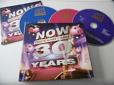NOW THAT'S WHAT I CALL 30 YEARS 3 CD ALBUM 60 TRACKS PSY CHER ELTON ADELE WHAM!
