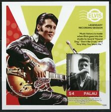 PALAU 2016 ELVIS PRESLEY LEGENDARY RECORDING SESSION SOUVENIR SHEET  MINT NH
