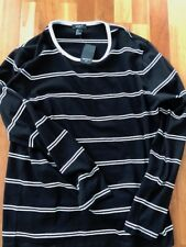 Men's Size Large Long Sleeve Shirt BLACK/WHITE Forever 21 - BRAND NEW WITH TAGS
