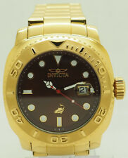 Invicta 14486 Australian Pro Diver Gold Toned NH35A Automatic Date 47mm Watch