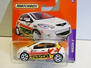Matchbox Mattel 1:64 Scale 2010 Mazda 2 23/75 T9304-0818 D40