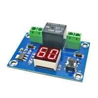5-60 minutes / 1-24h Countdown timer module digital timer powered by 12V DC
