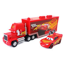 Disney Pixar Cars 3 Mack Hauler Truck And Lightning Mcqueen Toy Model Boys Gift