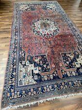 ✔ Bidjar | 186 x 370 | Handgeknüpft | Orientteppich | Carpet | Rug