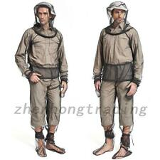 Outdoor Bug Wear Anti Mosquito Suit Jacket Mitts Pants Socks Net Yarn Mesh Club