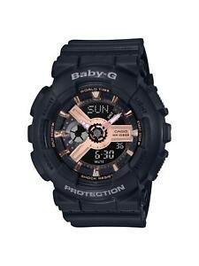 Casio G-Shock Rose Gold Hybrid Digital/Analogue Ladies Watch BA-110RG-1AER