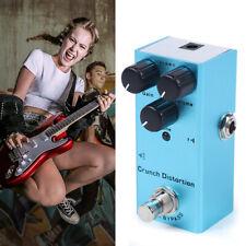 Gitarren E-Gitarren Effektpedal 3 Regler 9V Verzerrer E Gitarre Musik Instrument