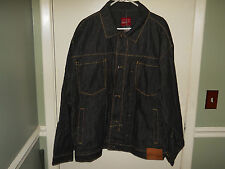 Platinum FUBU Men's Denim/Jean Jacket Size XXL Rudy FUBU Jacket NWT