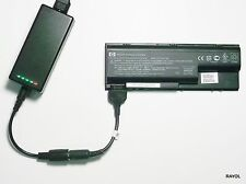 External Laptop Battery Charger for HP Pavilion DV8000, 403808-x 395789-x 396008
