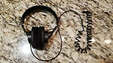 Sony MDR-7506 Headphones - New headband assembly, shortened cable, velour pads