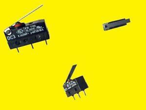 Cherry Switch Mikroschalter Taster DC3C 250VAC 0.1A Wechsler IP67 2 x