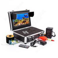 """50M Underwater Fishing Camera Fish Finder Infrared 9"""" LCD W/Remote Control HOT"""