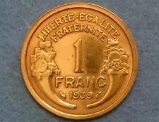1 FRANC Morlon 1939 Paris F.219/10 - (Très belle monnaie) SUP++
