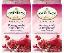 Twinings Of London Pomegranate & Raspberry Herbal Tea 2 Pack